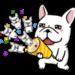 DOCA 明るすぎる犬2 ポップアップスタンプ